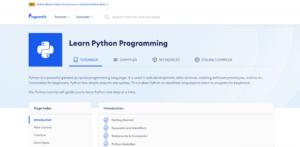 https://www.programiz.com/python-programming - programiz
