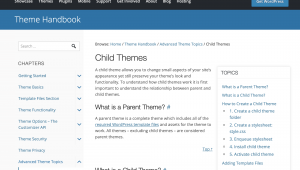How to Create a Child Theme