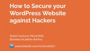 WordPress Security Presentation